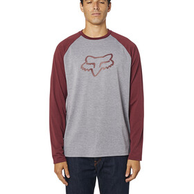 Fox Tournament LS Tech Tee Men heather graphite